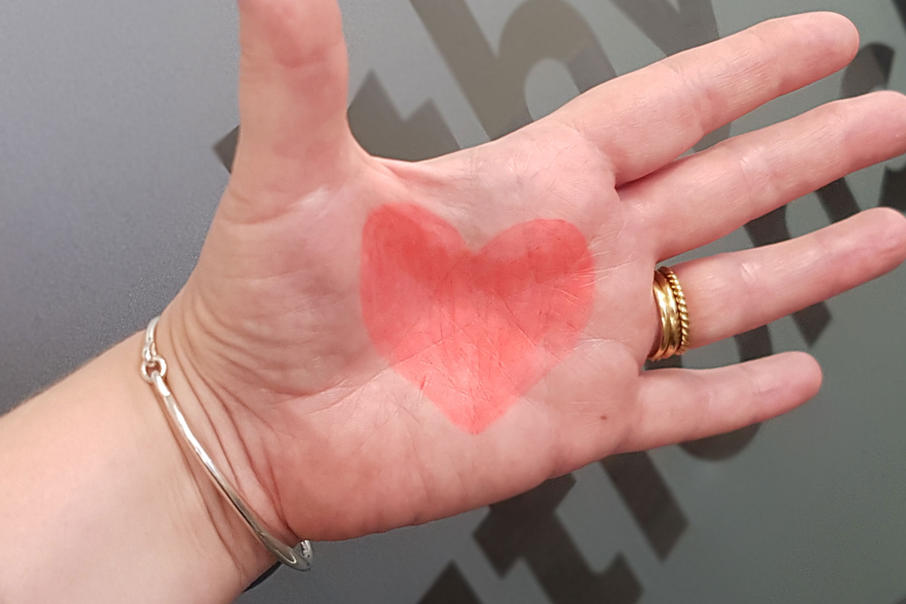 Pay it Forward hand with heart